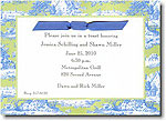 Boatman Geller - Blue & Green Toile Invitations
