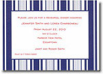 Boatman Geller - Navy Multistripe Invitations