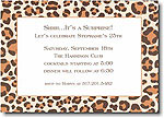 Boatman Geller - Brown Leopard Invitations