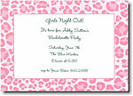 Boatman Geller - Pink Leopard Invitations