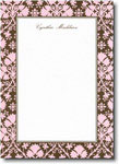 Boatman Geller - Pink & Brown Damask Invitations