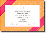 Boatman Geller - Banded Orange Invitations