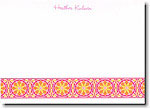 Boatman Geller - Hot Pink Floral Band Invitations