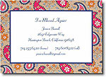 Boatman Geller - Tan Paisley Invitations