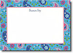 Boatman Geller - Blue Paisley Invitations