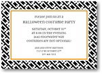 Boatman Geller - Halloween Invitations (Chain Link Black)