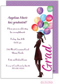 Bonnie Marcus Collection - Graduation Invitations (Beautiful Balloons Grad)