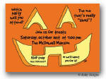Dinky Designs Invitation - Jack O'Lantern