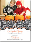 Noteworthy Collections - Halloween Photo Cards (Book Plate Swirly Skulls)