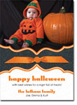 Noteworthy Collections - Halloween Photo Cards (Book Plate Spider Web with Ribbon)