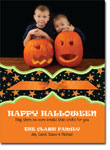 Noteworthy Collections - Halloween Photo Cards (Book Plate Halloween Stars with Ribbon)