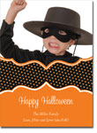 Noteworthy Collections - Halloween Photo Cards (Book Plate Halloween Polka Dots)