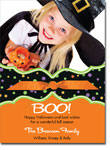 Noteworthy Collections - Halloween Photo Cards (Book Plate Halloween Dots with Ribbon)