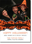 Noteworthy Collections - Halloween Photo Cards (Book Plate Spooky with Ribbon)