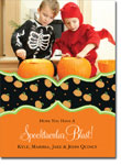 Noteworthy Collections - Halloween Photo Cards (Book Plate Pumpkins)