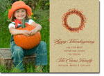 Noteworthy Collections - Halloween Photo Cards (Berry Wreath)