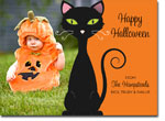 Noteworthy Collections - Halloween Photo Cards (Black Cat)