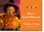 Noteworthy Collections - Halloween Photo Cards (Candy Apples)