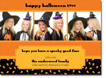 Noteworthy Collections - Halloween Photo Cards (Candy Corn)