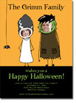 Noteworthy Collections - Halloween Photo Cards (The Frankensteins)