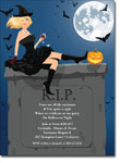 Noteworthy Collections - Halloween Invitations (RIP Blonde)
