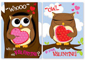Paper So Pretty - Fill-in Invitations & Thank You Notes (Valentine Owls)