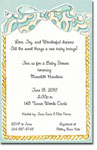 Picture Perfect - Invitations (Blue Bow)