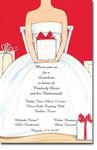 Picture Perfect - Invitations (Red Bridal Shower)