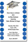 Picture Perfect - Invitations (Gradtastic Navy)