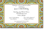 Picture Perfect - Invitations (Darling Damask Lime)
