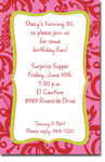 Picture Perfect - Invitations (Darling Damask Punch)