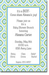 Picture Perfect - Invitations (Diamond Daisy Blue)