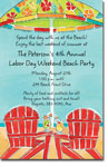 Picture Perfect - Invitations (Beach Time)