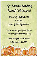 Picture Perfect - Invitations (Pumpkin Patch)