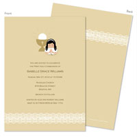 Spark & Spark Invitations (Lace On Bottom - Asian)