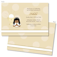 Spark & Spark Invitations (A Praying Girl - African American)
