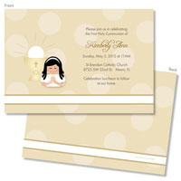 Spark & Spark Invitations (A Praying Girl - Asian)
