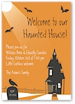 Stacy Claire Boyd - Halloween Invitations (Haunted House)