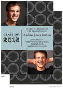 Take Note Designs - Charcoal Two Graduation Announcements (Graduation) (Photo)