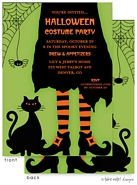 Take Note Designs - Halloween Invitations (Cosmic Creeper is Bewitched)
