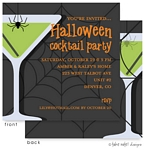 Take Note Designs - Halloween Invitations (Apple Web Martini)