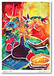 Michele Pulver/Another Creation Jewish New Year Cards - Matisse's Table