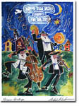 Michele Pulver/Another Creation Jewish New Year Cards - Klezmers At Night