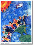 Michele Pulver/Another Creation Jewish New Year Cards - One World