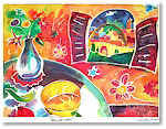 Michele Pulver/Another Creation Jewish New Year Cards - Table With A View