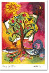 Michele Pulver/Another Creation Jewish New Year Cards - Tree of Life 3