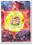 Michele Pulver/Another Creation Jewish New Year Cards - Grafitti