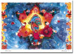 Michele Pulver/Another Creation Jewish New Year Cards - Hamsa