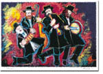 Michele Pulver/Another Creation Jewish New Year Cards - Klezmers