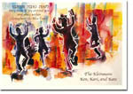Michele Pulver/Another Creation Jewish New Year Cards - Rejoice